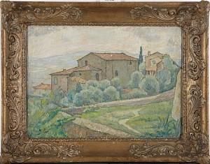 S:t Antonio Vid Fiesole by Edvin OLLERS