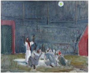 Profeten - Scen Ur Balett by Wilhelm KÅGE