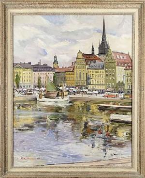 Kornhamnstorg by Carl Einar 'Figge' FREDRIKSSON