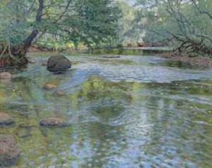 The River by Nikolai Petrovich BOGDANOV-BELSKY