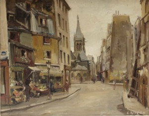 Parismotiv by Constantin KLUGE