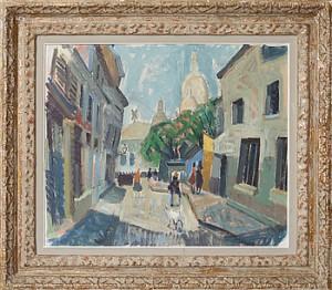 Motiv Från Paris by John Gunnar 'Haavs-Johnson' JOHNSON