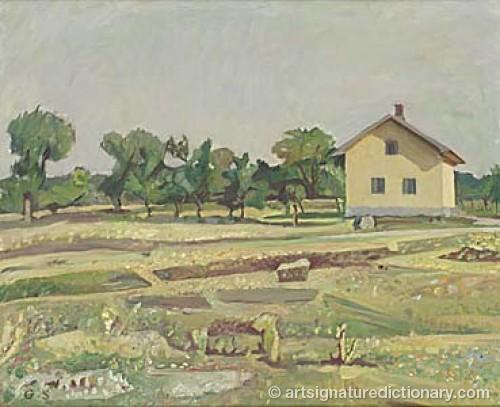 Landskapsvy by Gunnar SVENSON
