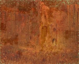 Katedralen I Avignon by Louis ICART