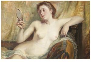 Modell Med Spegel by Hildegard THORELL