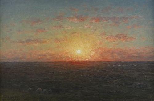 Solnedgång över Havet by Per EKSTRÖM