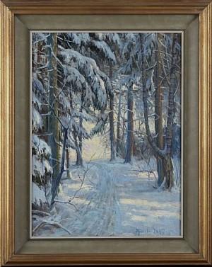 Vintermotiv by Anshelm DAHL
