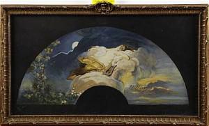 Erato Slumrar Mellan Natt Och Dag by Charles CHAPLIN
