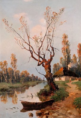 Autumn By The River by Aleksei Matveevich PROKOFIEV