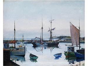 Listfischerhafen Im Spätlicht by Jens SINDING CHRISTENSEN