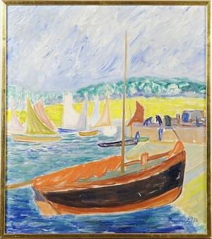 Fiskehamn I Bretagne by Ragnvald 'Ragnvald M' MAGNUSSON