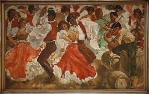 Dansande Sällskap by Charles ROKA