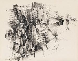 Hamn by Gösta 'Gan' ADRIAN-NILSSON