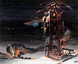 Explosioner by Gösta 'Gan' ADRIAN-NILSSON