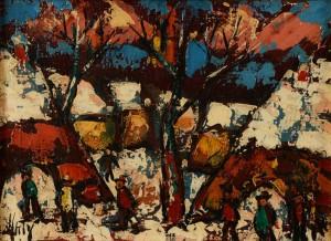 Paysage Enneigé by Henri D'ANTY