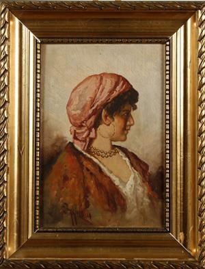 Ung Kvinde by Giuseppe GIARDIELLO