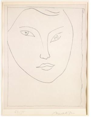 Portrait De Claude B by Henri MATISSE