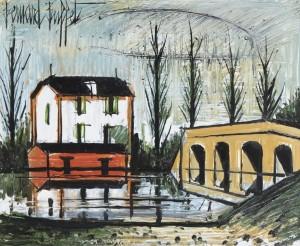 Maison Près De La Rivière by Bernhard BUFFET