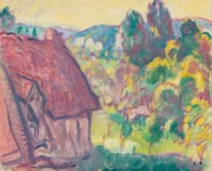 La Chaumière by Louis VALTAT