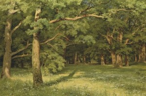 The Forest Clearing by Ivan Ivanovitch SHISHKIN