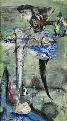 Figures In Landscape by Ragnar Von HOLTEN