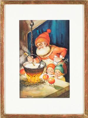 Julgröten Tilllagas by Helge ARTELIUS
