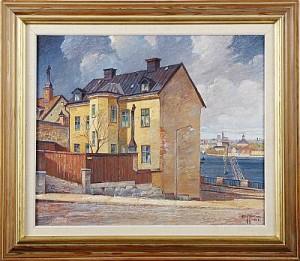 Utsikt Från Klippgatan by Stig JONZON