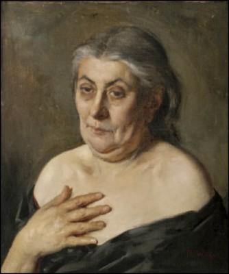 Gammal Kvinna by Maria WIIK