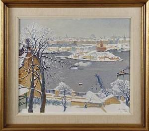 Utsikt Från Ersta Sjukhus by Stig JONZON