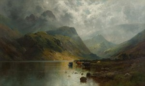 In The West Highlands by Alfred Fontville De The Younger BREANSKI