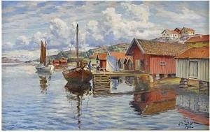Fiskeläge, Bohuslän by Johan ERICSON