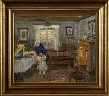 Hos Mormor by Åke WICKSTRÖM