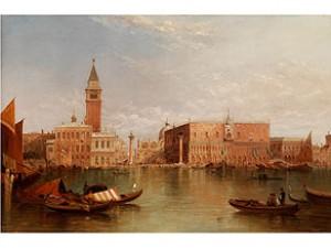 Ansicht Von Venedig by Alfred POLLENTINE