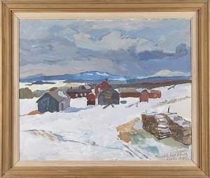 Vintermotiv by Harald LINDBERG