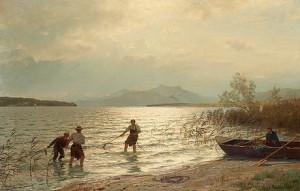 Strandnära Fiske by Hans Fredrik GUDE