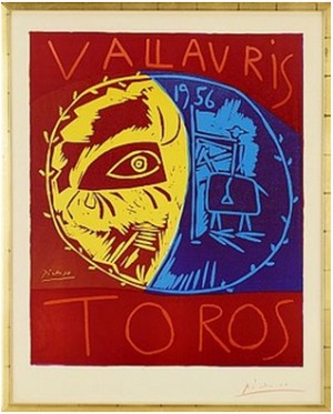 Vallauris 1956 Toros by Pablo PICASSO