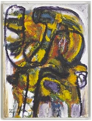 Drakabygget Ii (hyllning Till Klee) by Carl MAGNUS