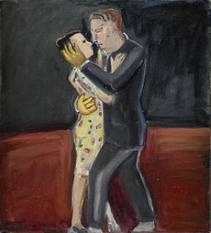 Dansande Par by Lena CRONQVIST