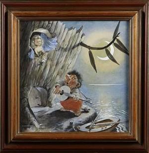 Trollsång by Einar NORELIUS