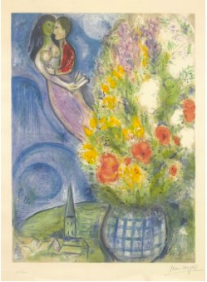 Les Coquelicots by Marc CHAGALL