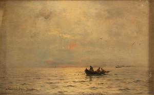 Båt Till Havs by Georg Anton RASMUSSEN