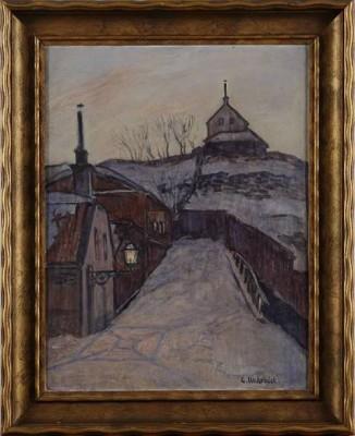 Motiv Från Uppsala by Gusten WIDERBÄCK