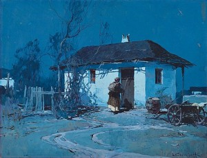 Night In Ukraine by Stepan Fedorovich KOLESNIKOFF