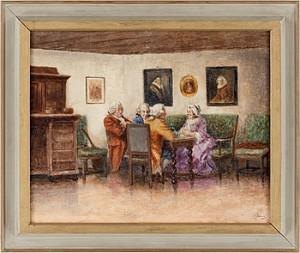 1700-tals Interiör by Emil ÅBERG
