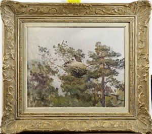 Fågelbo I Träd by Lindorm LILJEFORS