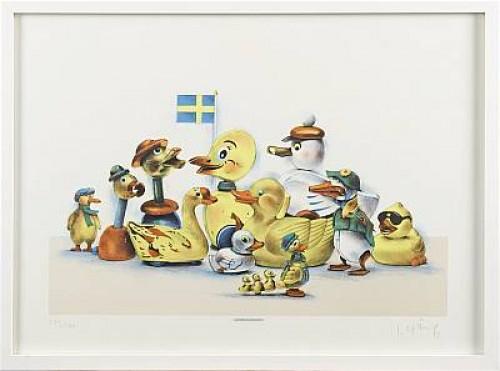Ankdammen by Lasse ÅBERG