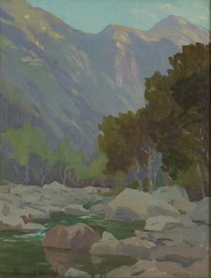 Matilija Canyon Stream by Marion Kavanagh WACHTEL
