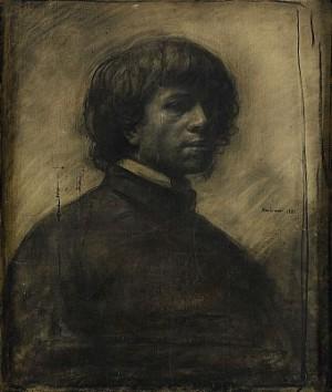 Självporträtt by Odd NERDRUM