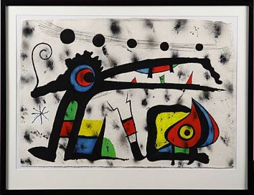 Komposition Med Fåglar by Joan MIRO