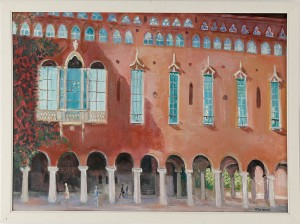 Fasad, Stadshuset by Margareta CARLSTEDT